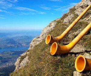D'où vient le cor des Alpes ?